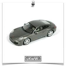 Minichamps 1/43 - Porsche 911 (991) Carrera 2011 gris métallisé
