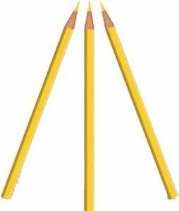 Jayhawk Bowling Ball Markierungs Stift gelb