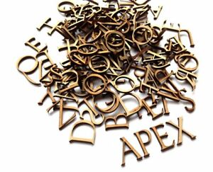 4 Complete Wooden Alphabets with 50 extra vowels 'Imperator'