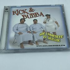 """Rick & Bubba """"She Commenced to Shaving"""" Morning Radio Show Comedy 2-CD OOP 2002"""