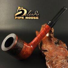 OUTSTANDING WOROBIEC Nr 156 Italian BRIAR Wood Handmade Smoking Pipe BARON teak