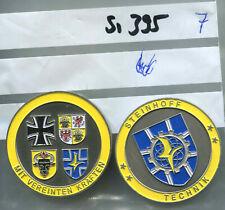 A63 Orden Bundeswehr Kommandeurscoin SanEinsVbd Mazar e Sharif