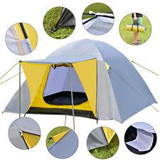 Campingzelt Domezelt Kuppelzelt Trekkingzelt Familienzelt 4 Personen Zelt