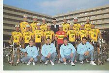 CYCLISME carte équipe cycliste PUERTAS MAVISA 1992