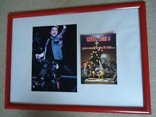 More details for iron maiden christmas card faux signed vintage 1999+ iron maiden photo image gem
