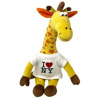"Vintage Toys R Us Geoffrey Giraffe Plush Soft Toy 19"" Times Square New York 90s"