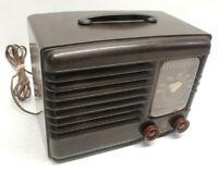 Emerson Radio and Phonograph Corp Bakelite Vintage Tube Radio