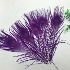 Beautiful peacock tail feather eyes 10-12 inches / 25-30 cm 10-100pcs