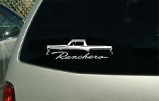 1957 Ford Ranchero truck car outline sticker decal wall graphic