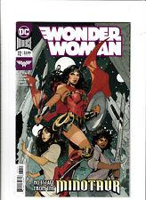 Wonder Woman #72 NM- 9.2 DC Comics Cover A Justice League 2019