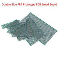 5/10Pcs prototype PCB bread board tinned universal double side FR4 2x8cm 9x15 ba
