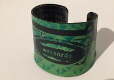 Wrecords by Monkey Reclaimed Vinyl Record Painted Cuff Bracelet - Brooklyn NYC
