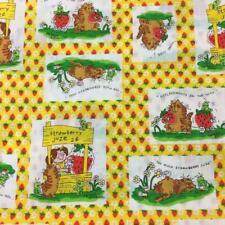 Vintage Barbra Alexander Strawberry Juze Stand Cat Girls Pillowcases 80's