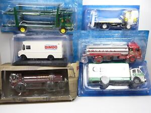 KAS14 LOT de 6 CAMIONS 1/43 Collection cassés broken models rotos