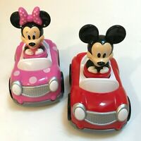 Disney Mickey & Minnie Mouse Push and Go Racer Cars