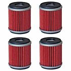 Oil Filter Filters for Yamaha YFZ450 YFZ450R YFZ450W YFZ450X Raptor 250 4-Pack