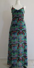 Womens Lovely Paisley Evening/Cocktail/Casual Summer Maxi Dress Sz 10-12 Perfect
