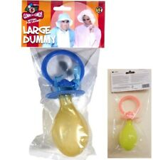 Jumbo Dummy Pacifier Baby Doll Adults Stag Fancy Dress Costume Accessory Prop