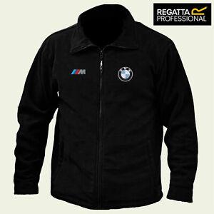 BMW M sport Regatta Fleece Jacket Embroidered Logo Winter Warmer Unisex