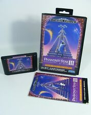 Phantasy Star 3 III pour Sega Mega Drive-MD jeu Module Avec Manuel Et neuf dans sa boîte