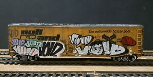 TRAINS BURLINGTON NORTHERN SANTA FE AHM ATHEARN TYCO RAIL BOX BOXCAR ART CEPS