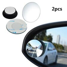 2pcs Car Rearview Mirror Blind Spot Side View Wide Angle For BMW Subaru Toyota