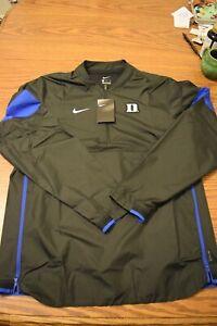 Mens medium  Nike Duke Blue Devils On Field Apparel 1/4 zip pullover jacket