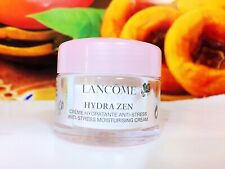 LANCOME HYDRA ZEN NUIT ANTI-STRESS MOISTURISING CREAM 30ml =15ml*2pcs Sample