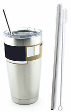 Stainless Steel Drinking Straw fits Yeti Tumbler Rambler Cups - CocoStraw Brand