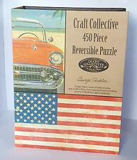 Craft Collective 450-Piece Vintage-Inspired Reversible Puzzle Set