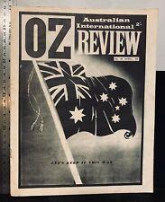 OZ, Australian International Review vintage newspaper, 1965