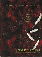 "HEATH LEDGER & KATE HUDSON +2 Authentic Hand-Signed ""FOUR FEATHERS"" PRESS BOOK"