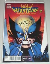All New Wolverine #1! (2016) Signed-Tom Taylor! 1st X-23 in Classic Costume! NM!