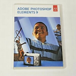 Adobe Photoshop Elements 9 Mac or PC Costco Full Retail Version
