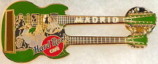 Hard Rock Cafe Madrid 2000 Velasquez Painting on Green Dn Guitar Pin - Hrc #5135