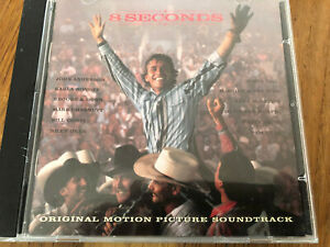 "US Country Music CD V/A "" 8 Seconds"" Soundtrack, Reba, Brooks & Dunn,"