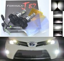 LED Kit X3 50W H7 6000K White Two Bulbs Light DRL Daytime Replacement Upgrade OE