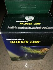 Submersible 5W Halogen Fountain Lights. New