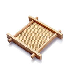 Handmade Pad cup Bamboo cup tools Chinese Tea mat Traditional Natural cup