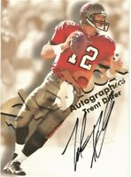 1998 Skybox Autographics Trent Dilfer Tampa Bay Buccaneers Certified Autograph