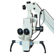Ophthalmic Surgical Microscope 3 Step 90 Degree With Led Light Full Set Freeship