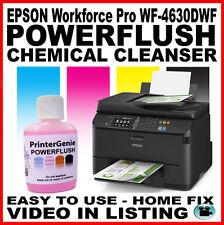 EPSON Workforce Pro WF-4630DWF Head Cleaner Nozzle Cleanser Printhead Unblocker