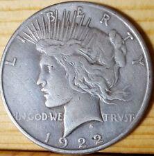 1922 S Peace Dollar rare silver coin KM# 150