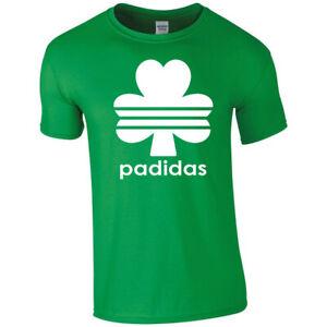 Happy St Patricks Day Irish Ireland Padidas T-shirt Tshirt Men Women Unisex 3653