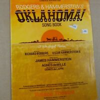 song book OKLAHOMA ! Rodgers & Hammerstein