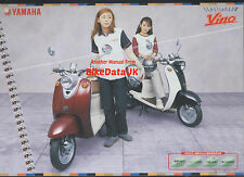 Genuine Yamaha YJ50R Vino (1999->) Japanese Sales Brochure YJ 50 R Moped AD39