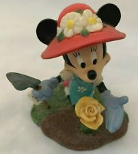 "Disney Danbury Mint 3"" Minnie Mouse May Figurine Perpetual Calendar Figurine"