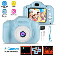 """1080P Digital Camera 2.0"""" HD Mini Camcorder With 16G TF Card for Kids Children"""