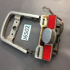 1983 Honda Shadow VT750  rear sissy bar back rest with license mount