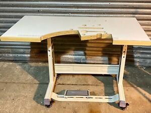 Pre Drilled Wooden Table Top For Union Special 43200G Sewing Machine ( No Legs)